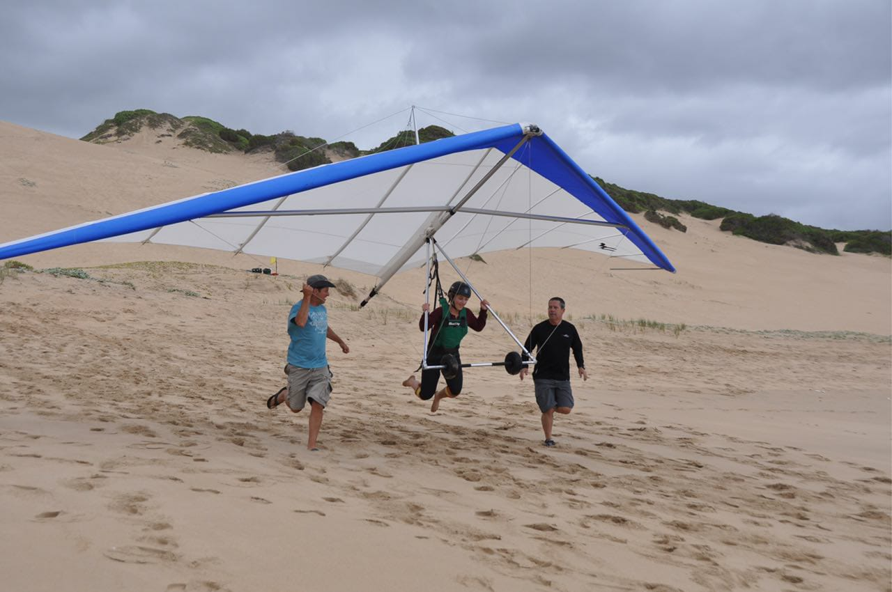 Hang gliding and tandem paragliding training courses