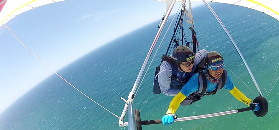 Hang gliding training in Garden Route