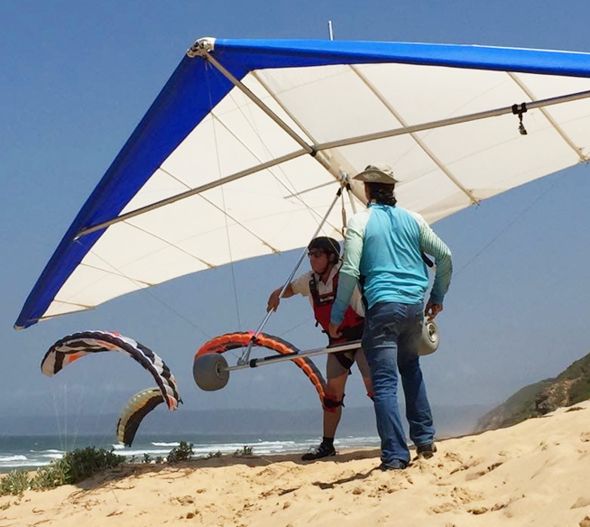 Hang gliding training courses in Wilderness, Sedgefield Garden Route