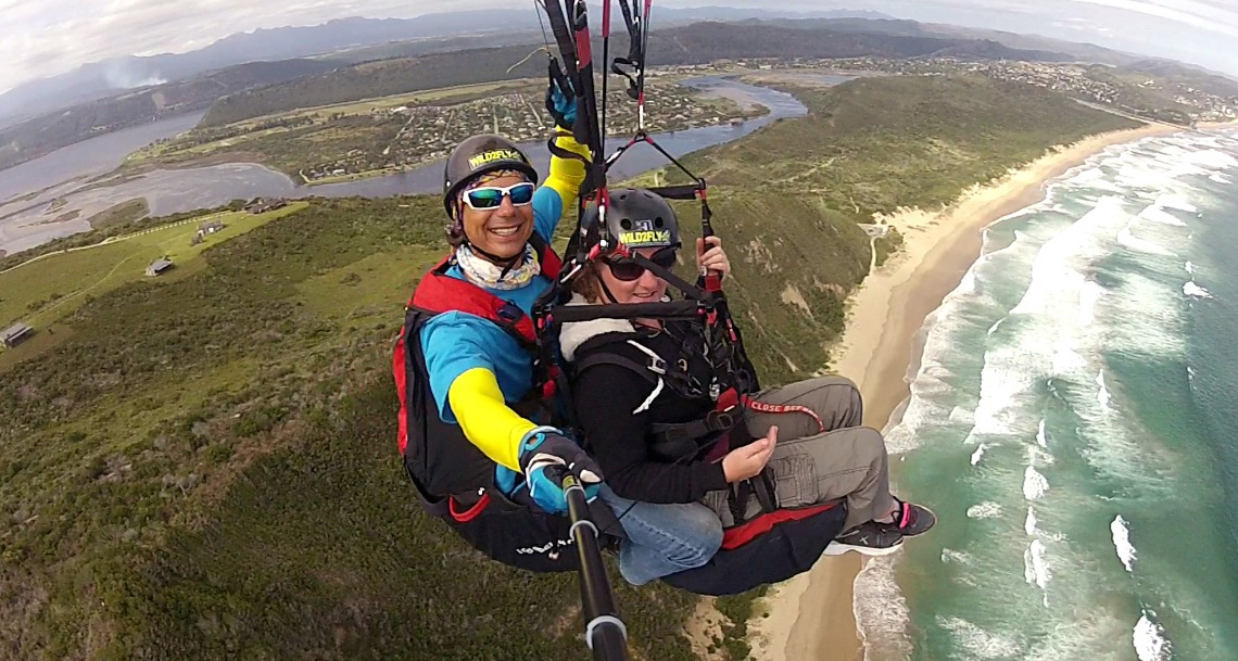 Hang gliding and tandem paragliding flight instructor